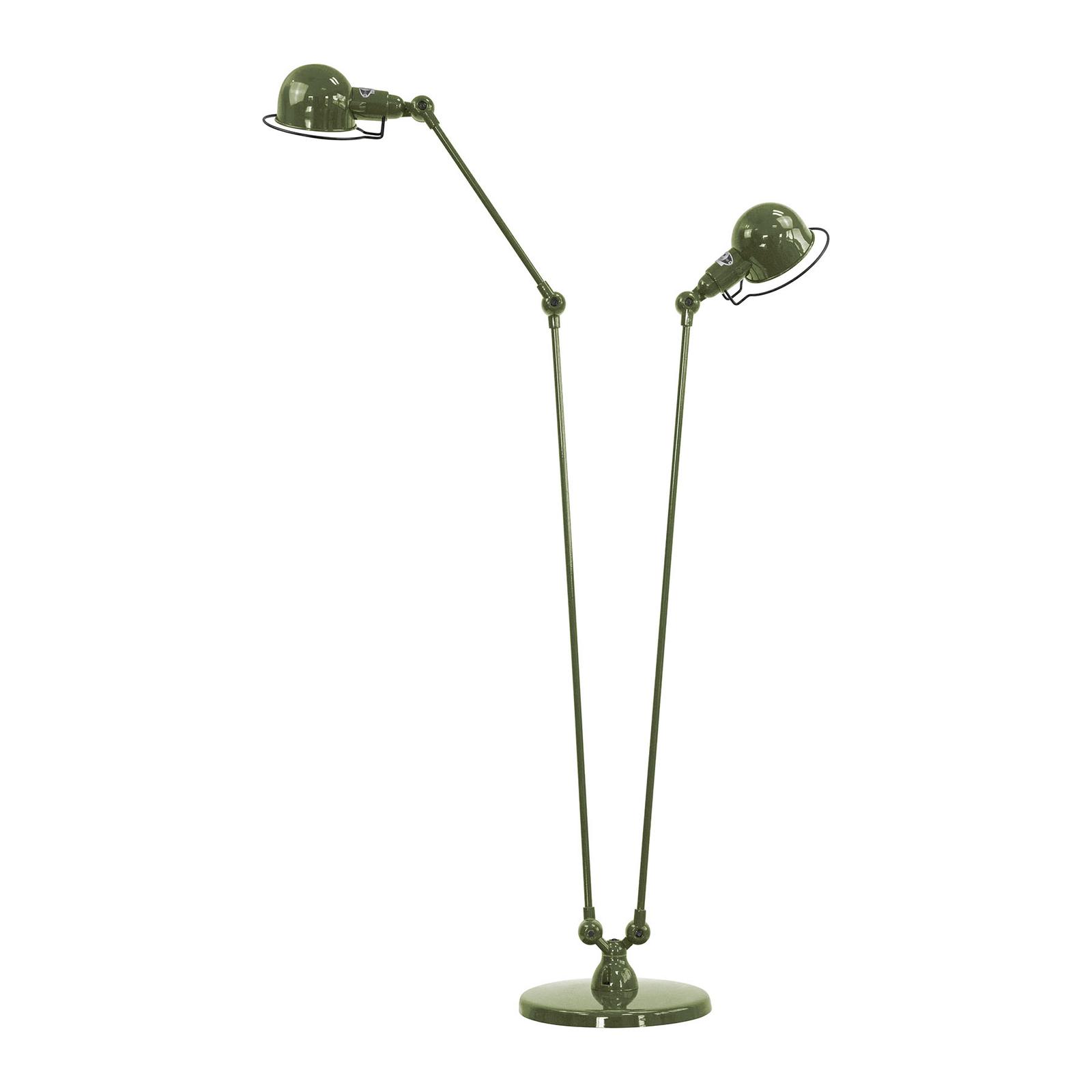 Jieldé Signal SI8380 piantana, 2 luci verde oliva