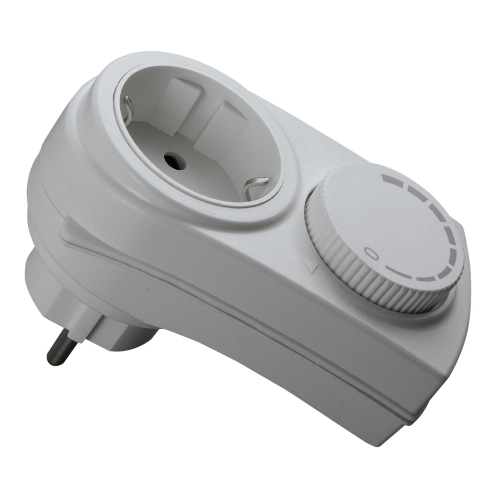 Stopcontact-dimmer met kinderbeveiliging