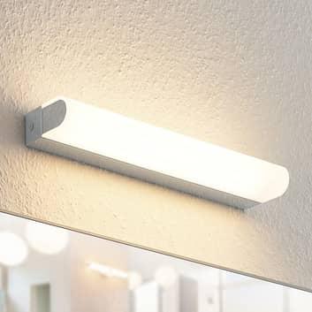 Arcchio Mourice LED-vegglampe, IP44, krom, 35 cm