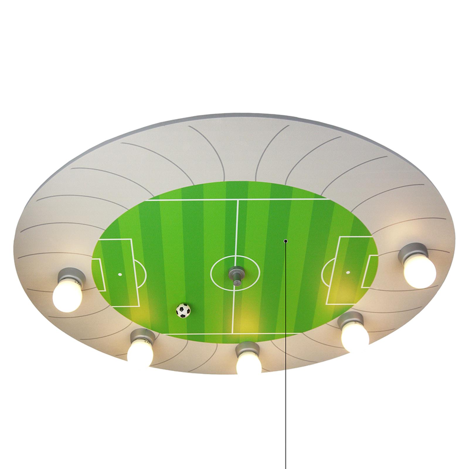 Taklampa Fußballstadion med LED-ljuspunkter