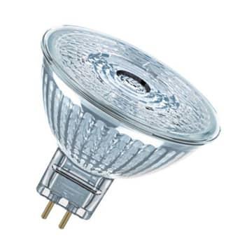 OSRAM-LED-heljastin Star GU5,3 8W lämmin valkoinen