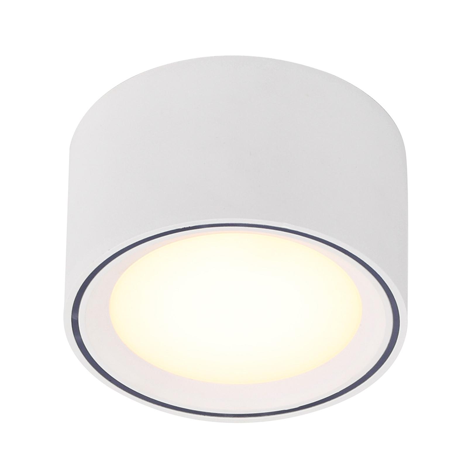 Lampa sufitowa LED Fallon, wysokość 6 cm