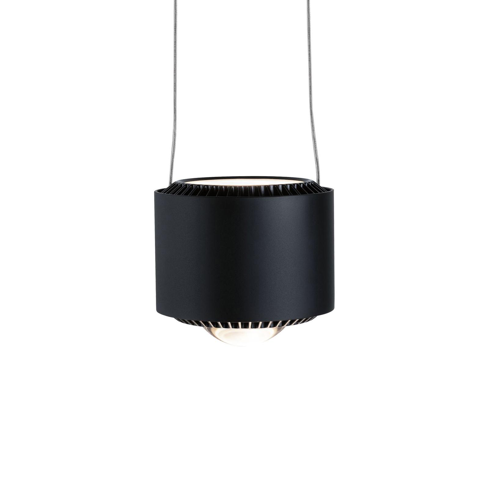 Paulmann URail Aldan LED-pendellampe, sort