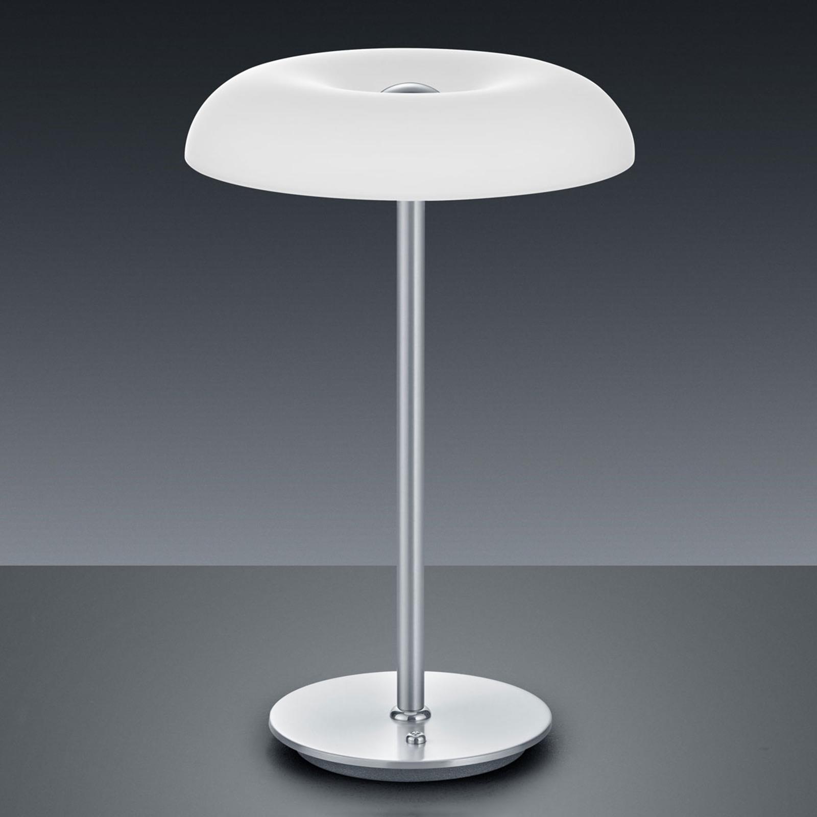 BANKAMP Vanity LED tafellamp tastdimmer nikkel