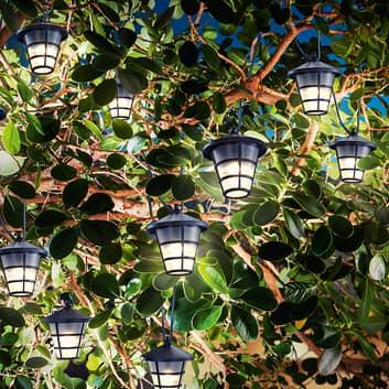 Solar LED-lichtketting Asia Style