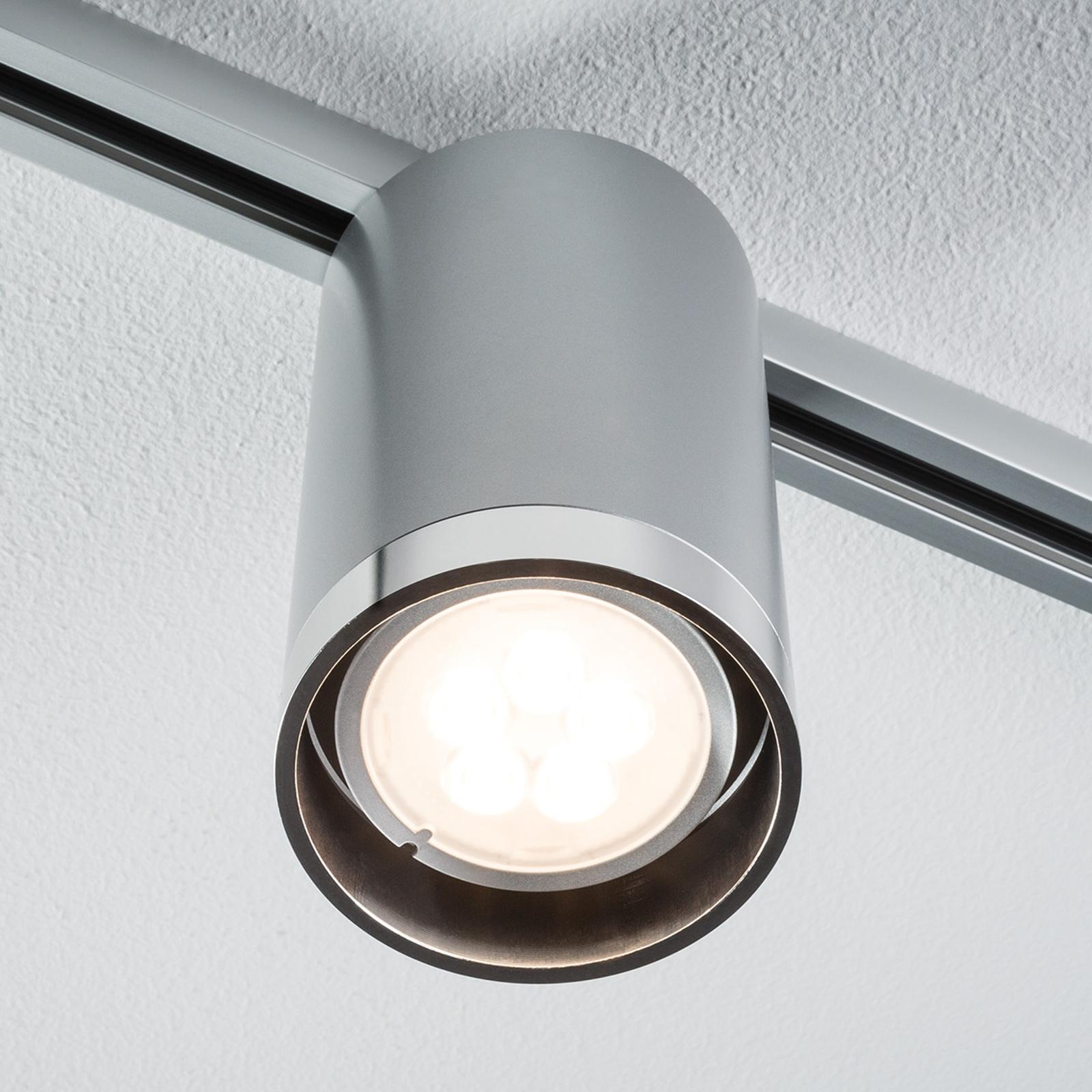 Paulmann URail Tube LED-Strahler chrom, starr 6,5W