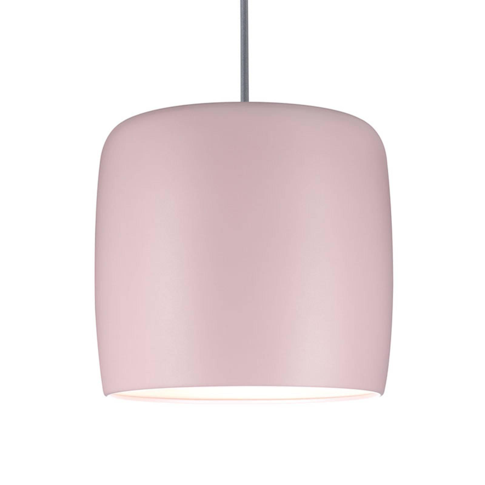 Paulmann metallskärm Pien rosa matt