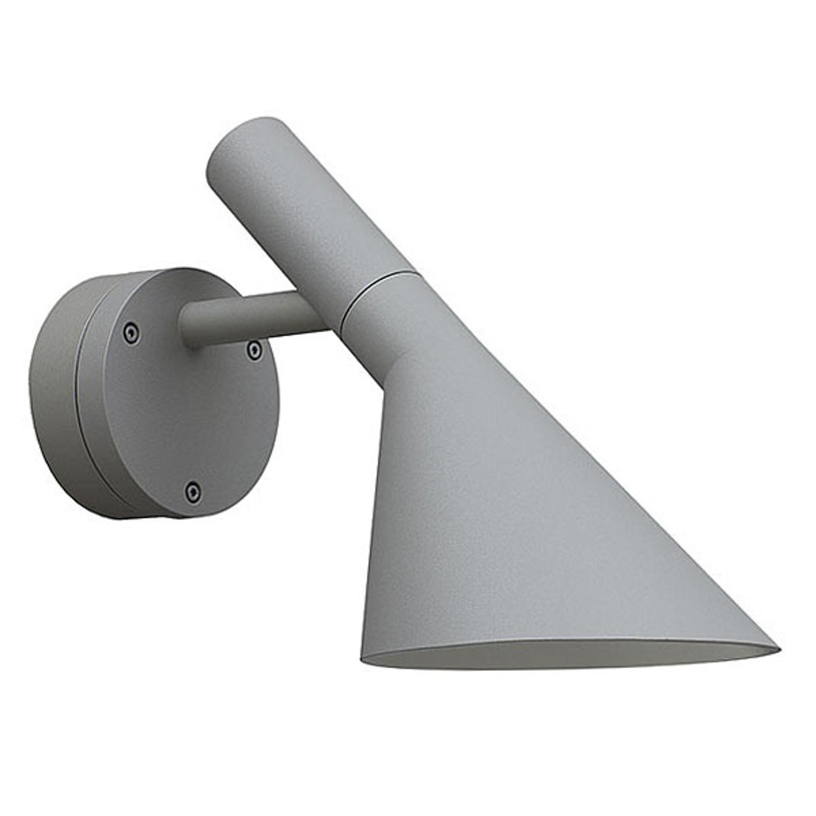 LED buiten wandlamp AJ 50, alu gestructureerd