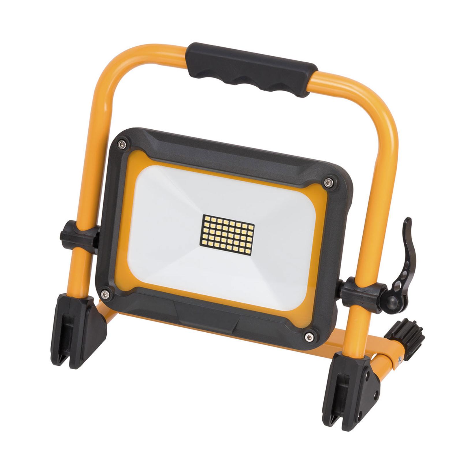 LED-Baustrahler Jaro m. Akku, mobil, IP54 20W