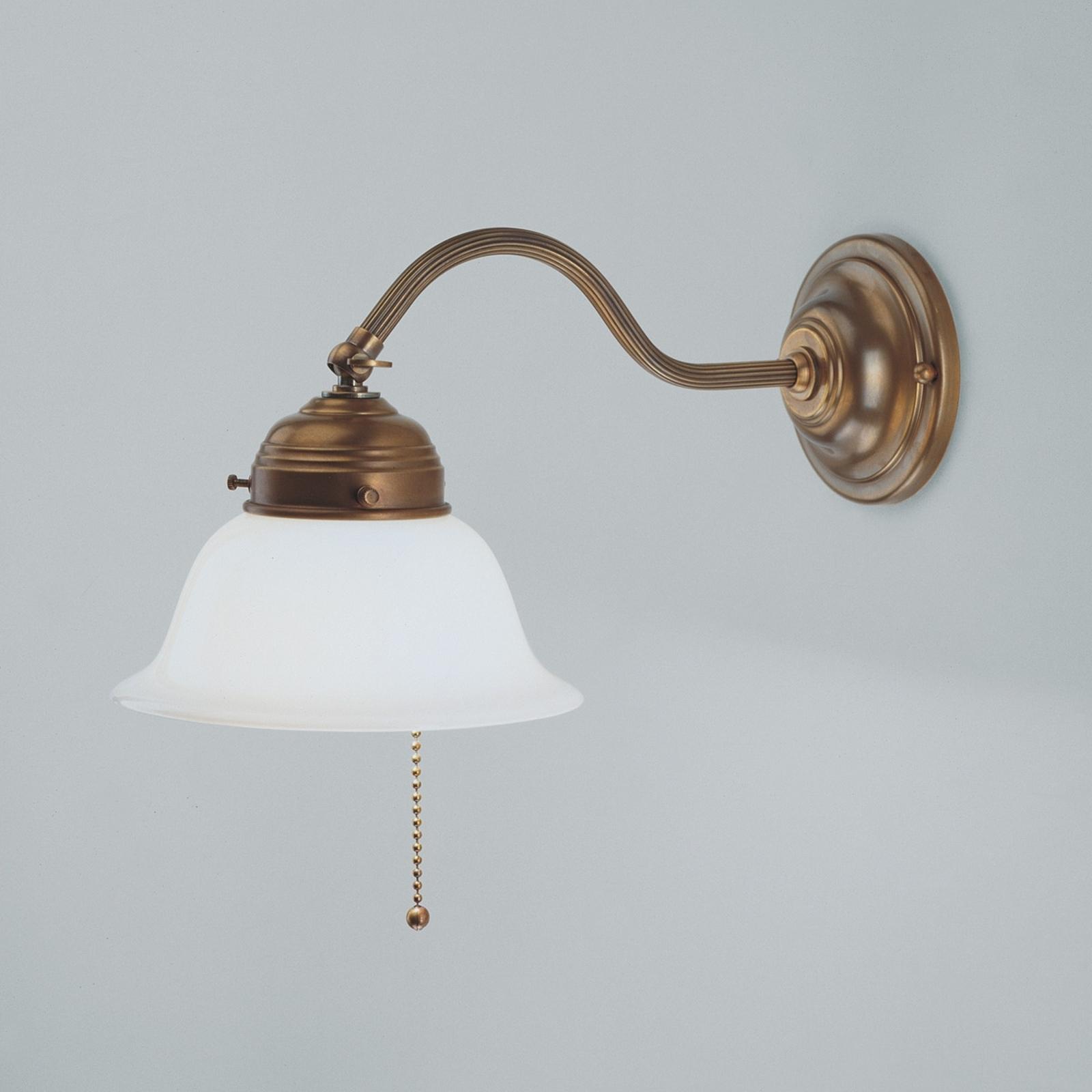 Messing wandlamp Boris
