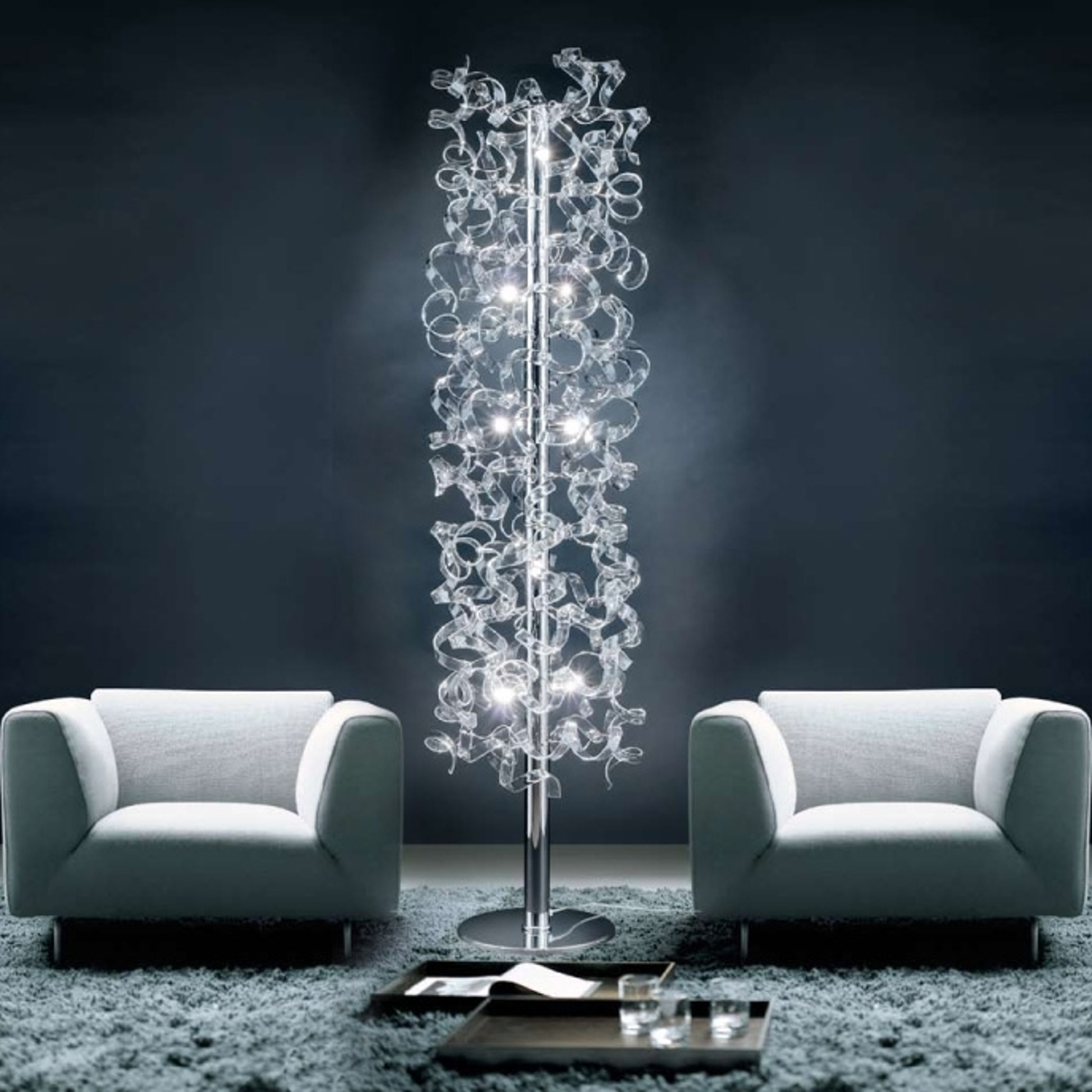 Crystal Floor Lamp Covered In Crystals Lights Co Uk