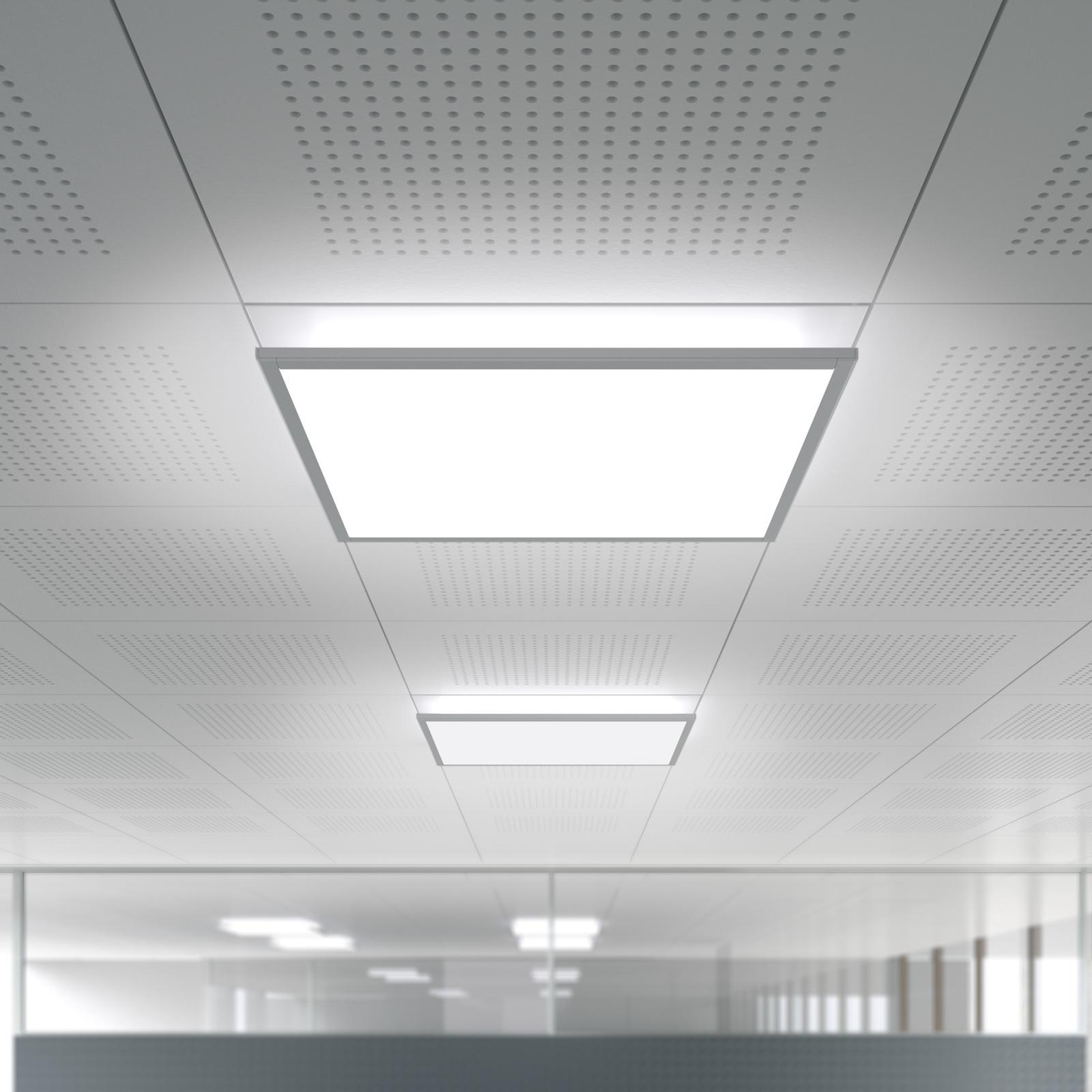 IDOO.fit LED-lampe 62,3x62,3 cm 840 dæmpbar