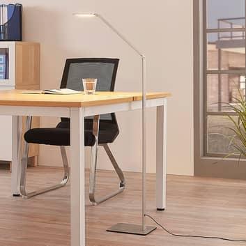 Stojací LED lampa Resi, stmívací, ideální na čtení