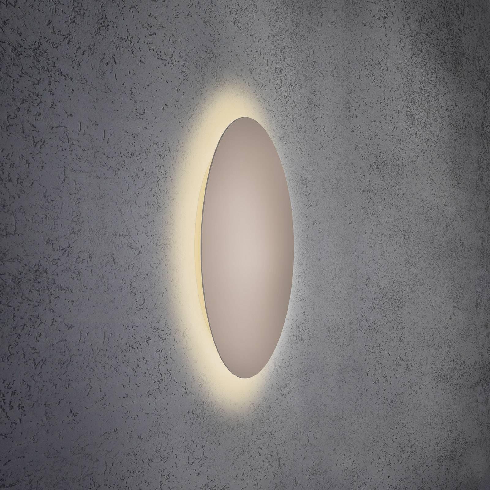 Escale Blade applique LED, taupe, Ø 59cm