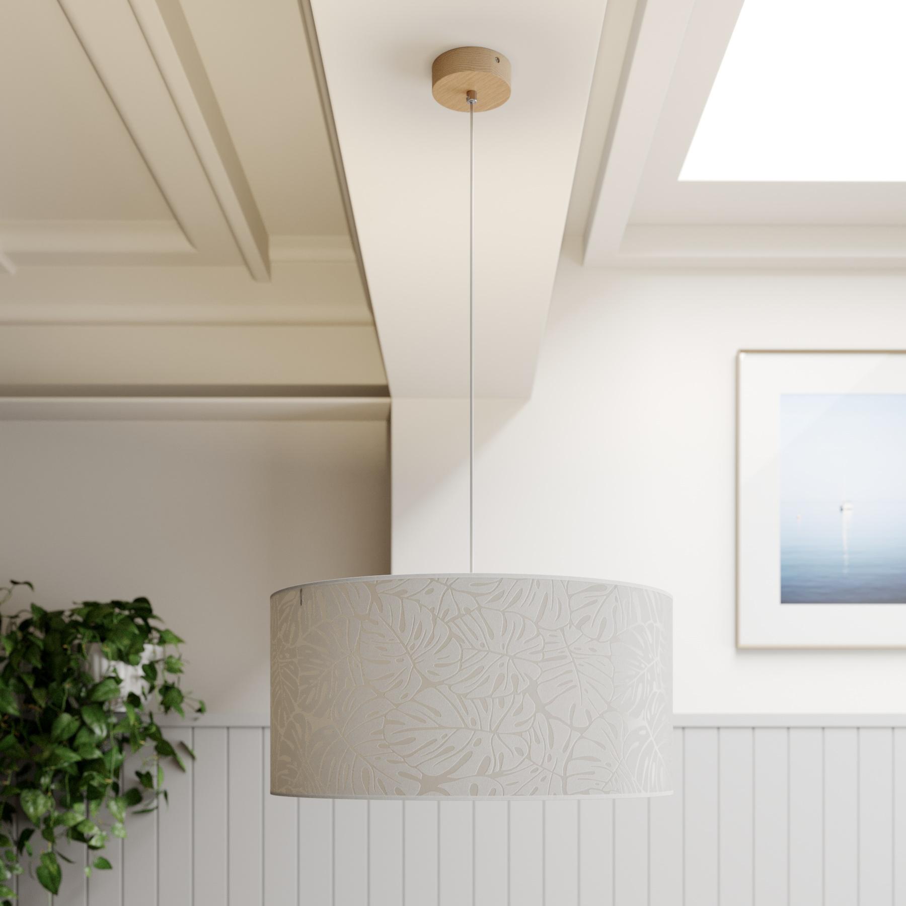 Hanglamp Hierro, kap rond Ø 50 cm