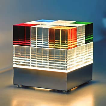 TECNOLUMEN Cubelight CL1 lámpara de mesa