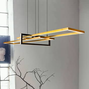 LED-hengelampe Salinas med Switch-Dim-funksjon
