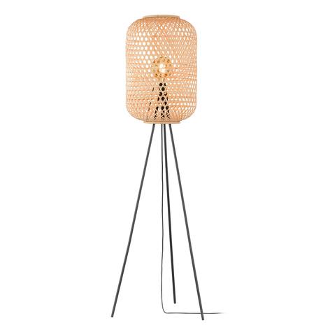 Schöner Wohnen Calla lampadaire trépied, naturel