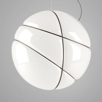 Fabbian Armilla lámpara colgante de vidrio