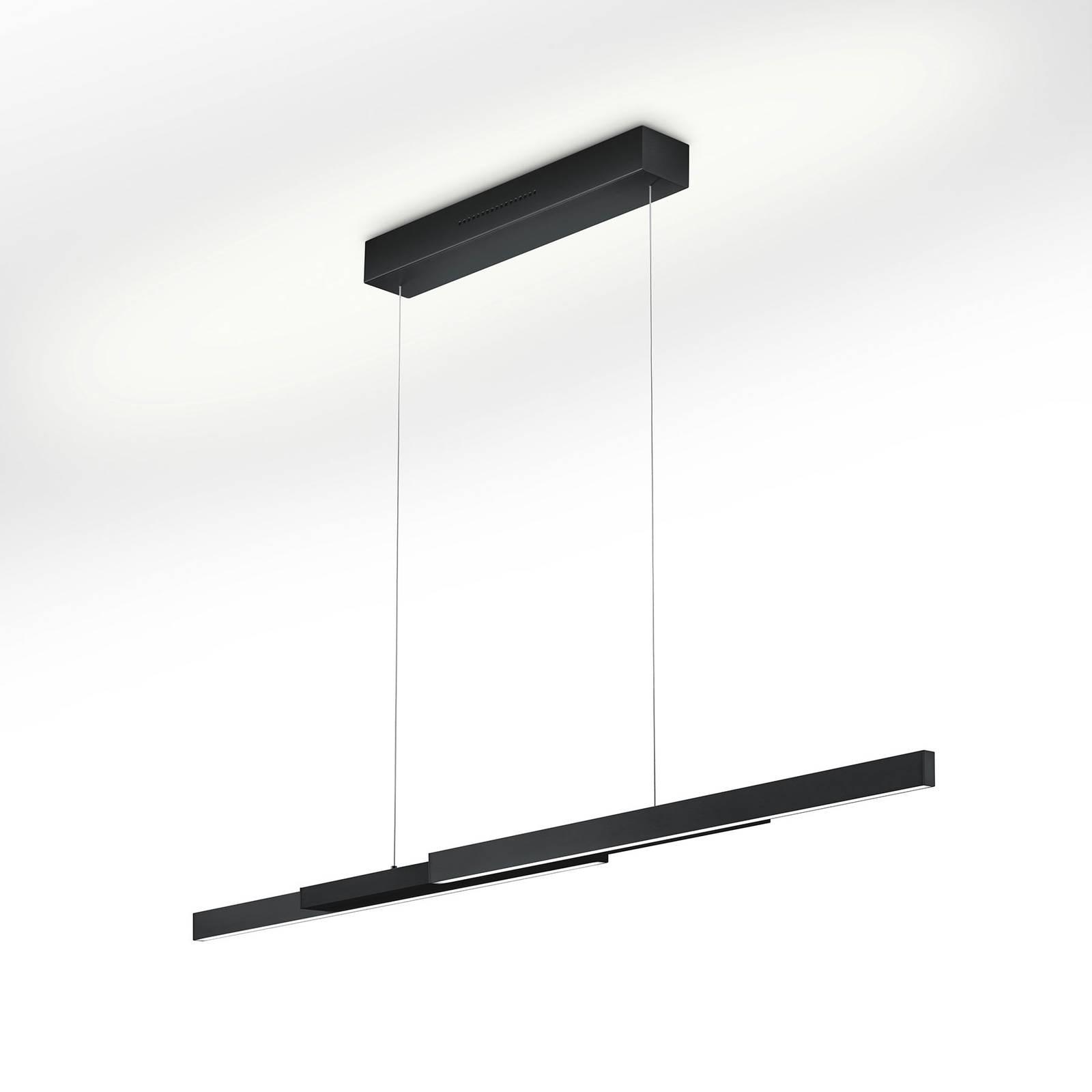 LED-Hängelampe Lara-L205 schwarz, Gestensteuerung