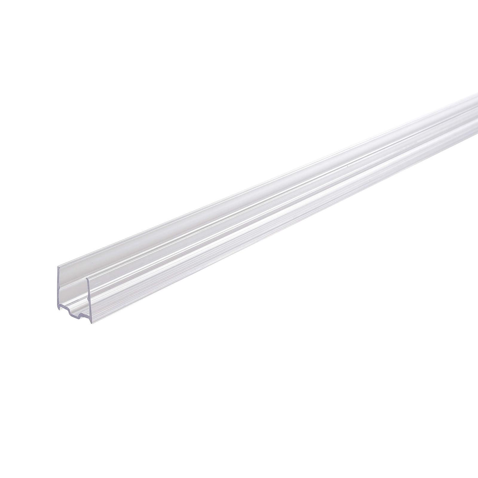 Plastprofil D Flex Line Top View LED-stripe 1m