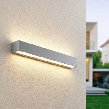 Lucande Lengo aplique LED exterior, up down, 50 cm