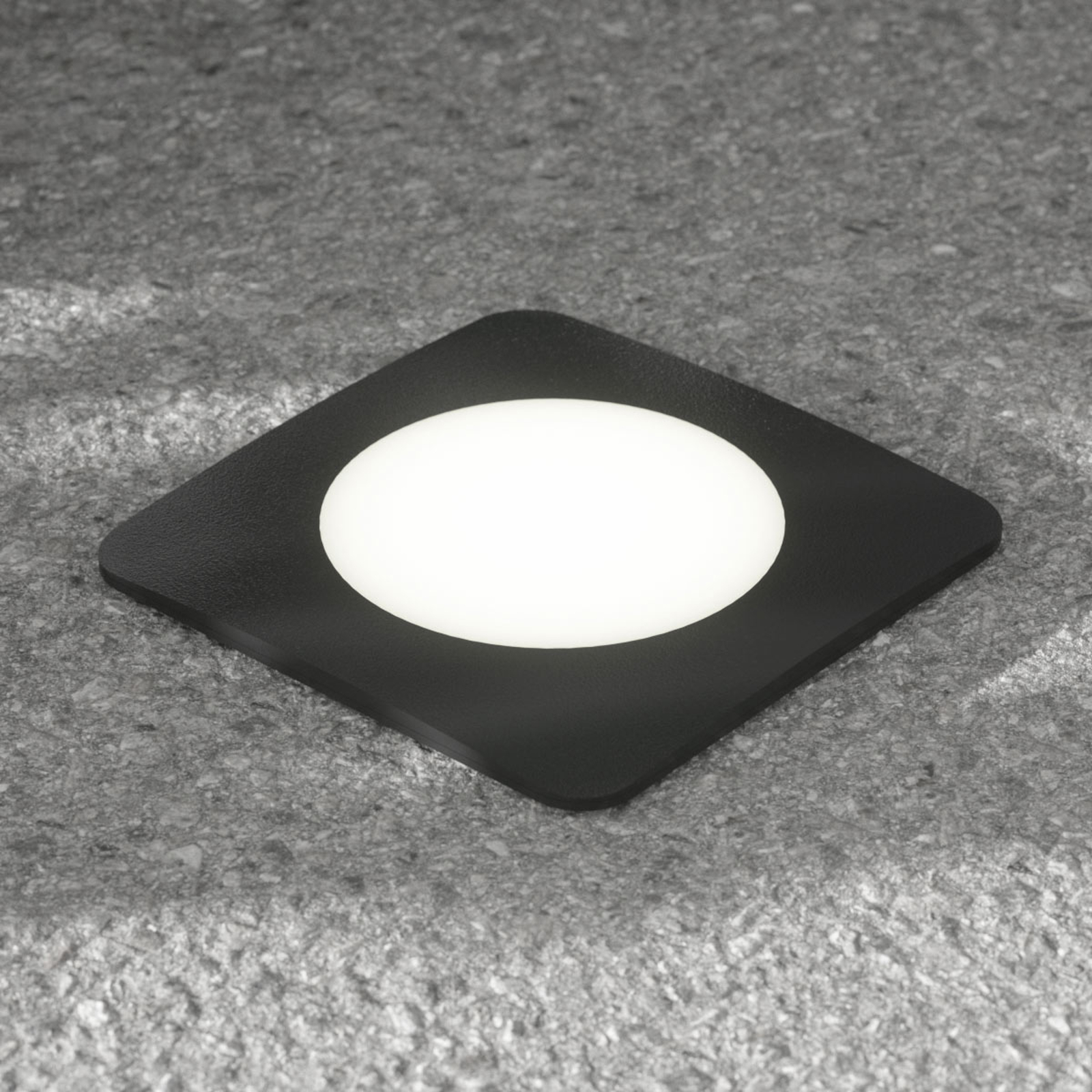 LED-bakkespot Ceci 160-SQ svart CCT
