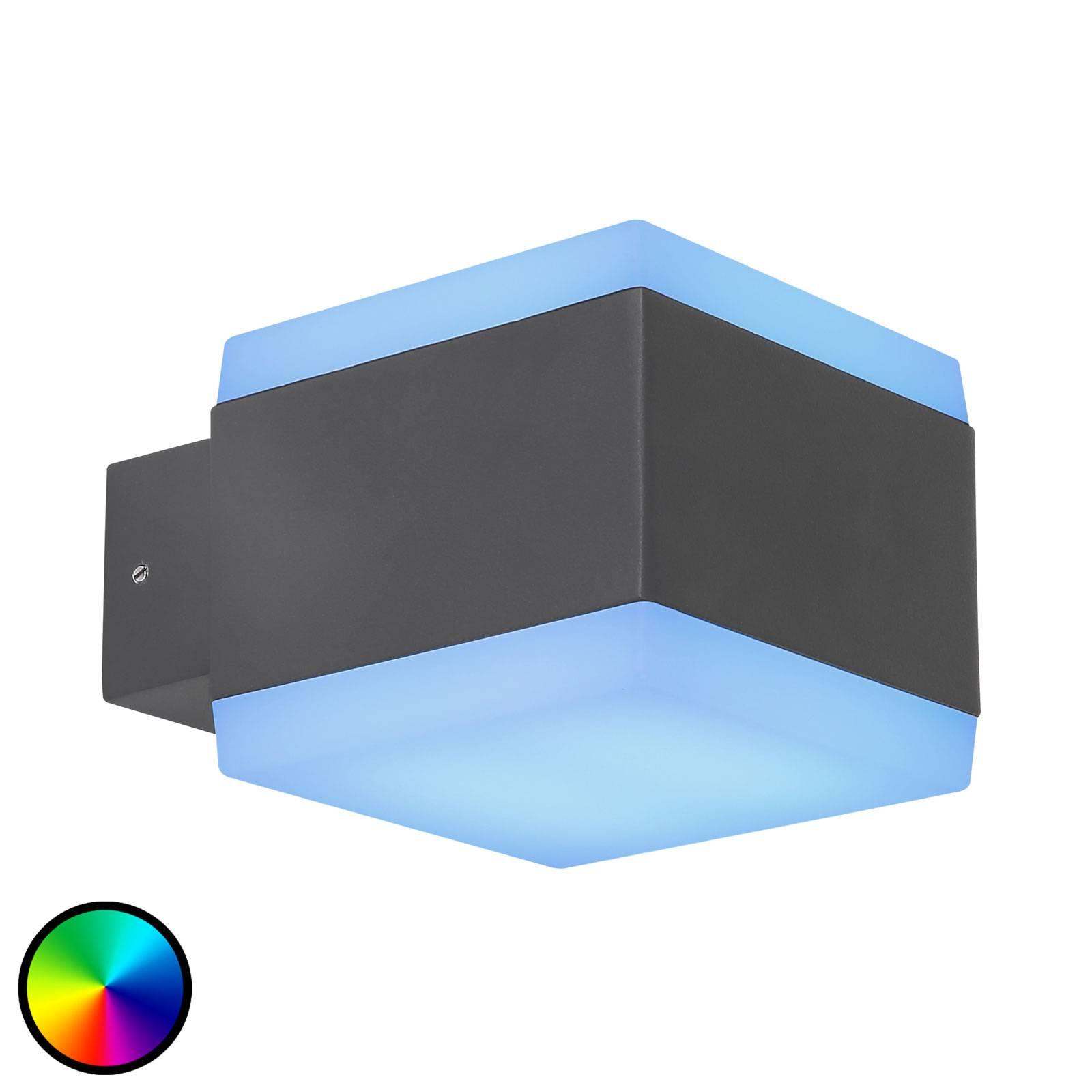 Applique d'extérieur LED Slice Tuya-Smart RGBW CCT
