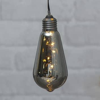 Vintage LED-dekorbelysning Glow med timer