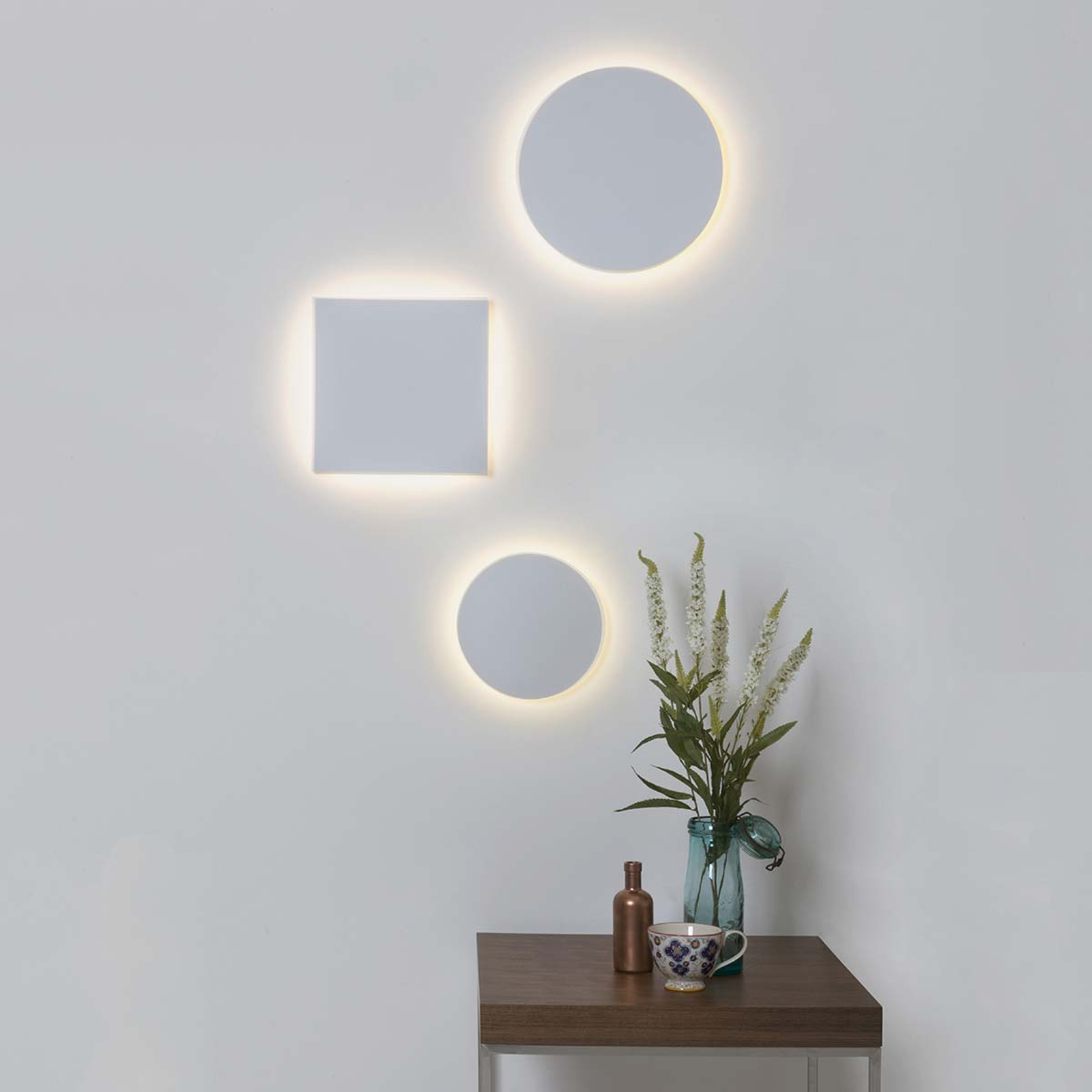 Lámpara de pared LED Eclipse Square 300