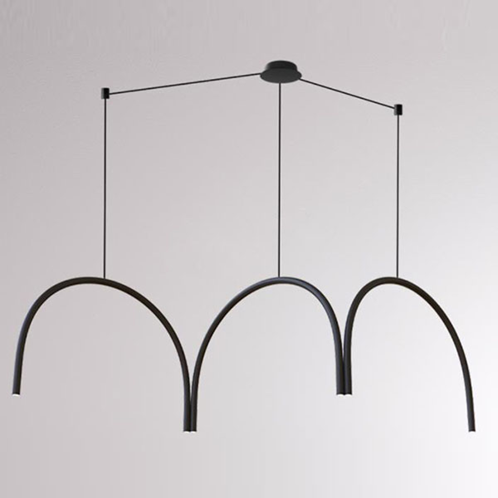 LOUM Arkade System suspension LED à trois arcs