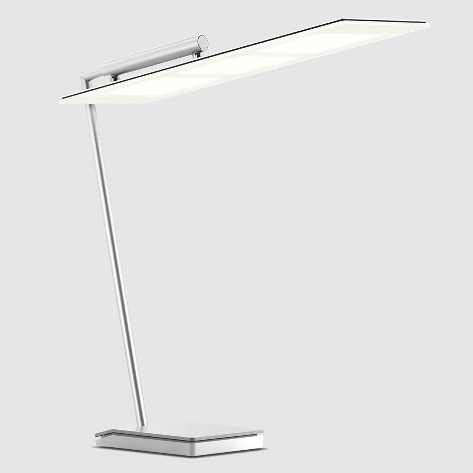 Weiße OLED-Schreibtischleuchte OMLED One d3