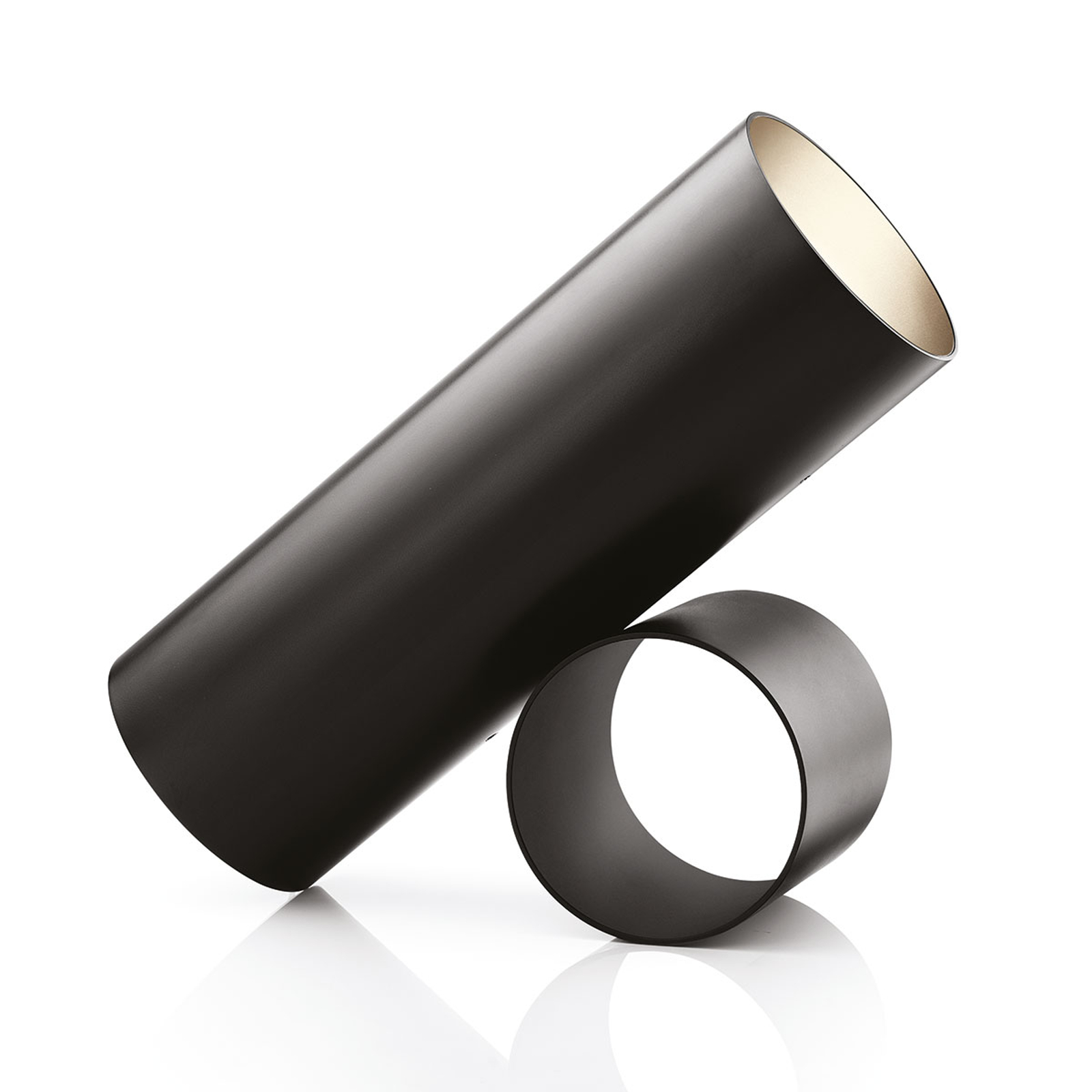 FLOS Sawaru LED-Tischleuchte, verstellbar schwarz