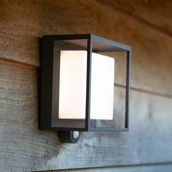 Lámpara LED solar Curtis con sensor de movimiento