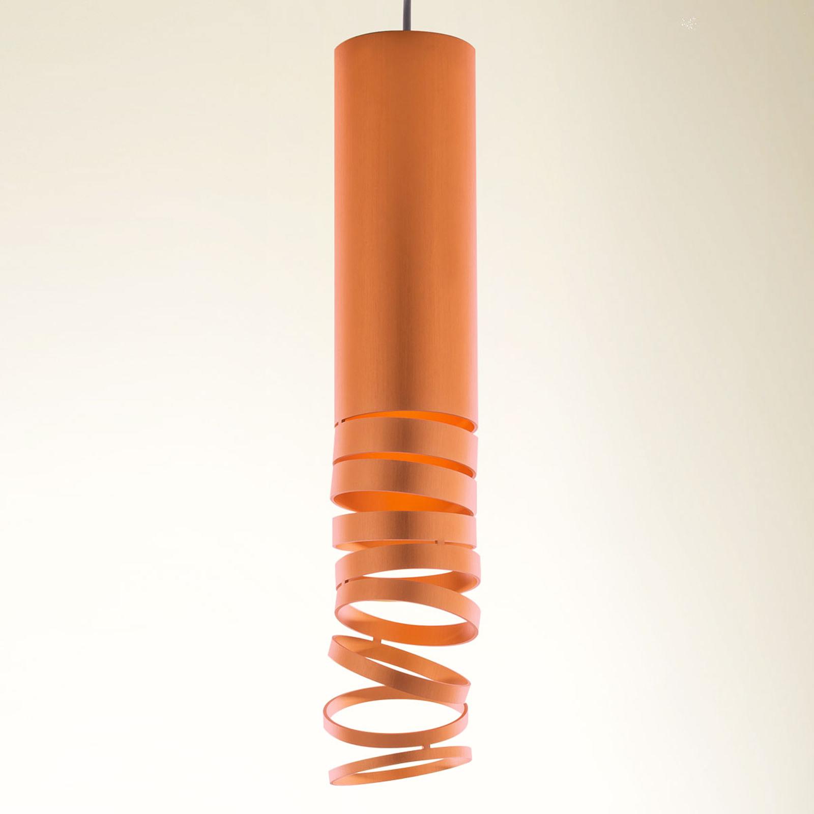 Artemide Decomposé lampada a sospensione arancio
