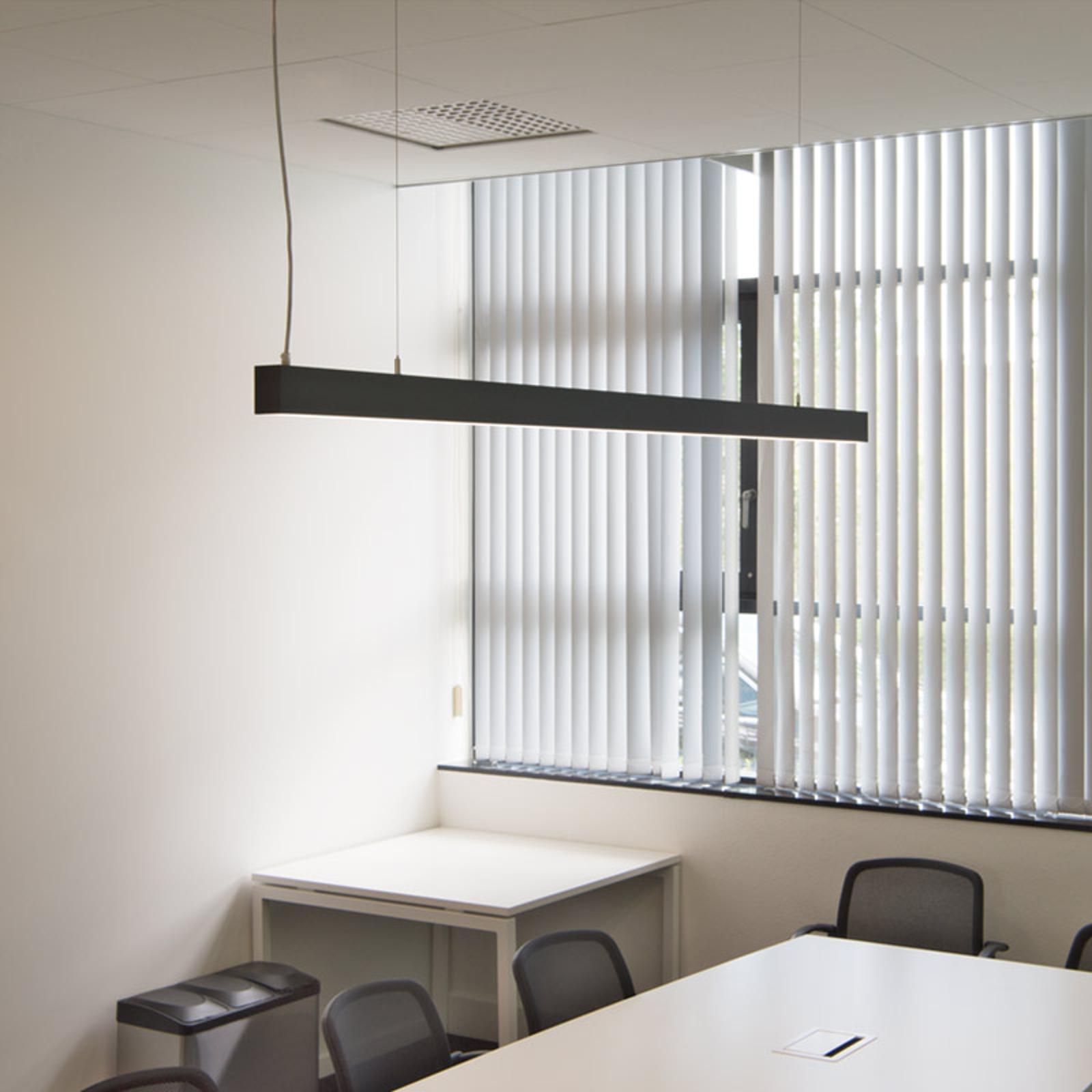 SLV Glenos lampa wisząca LED 205cm czarna