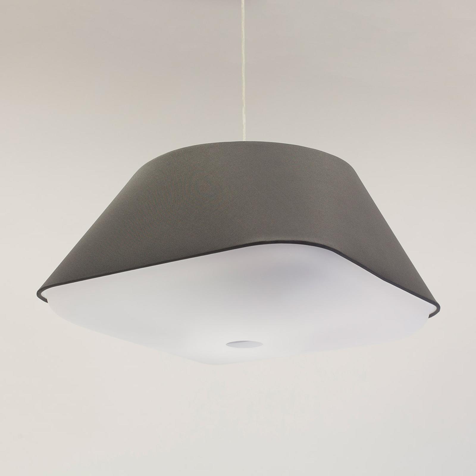 Innermost RD2SQ 60 - textiel-hanglamp, donkergrijs