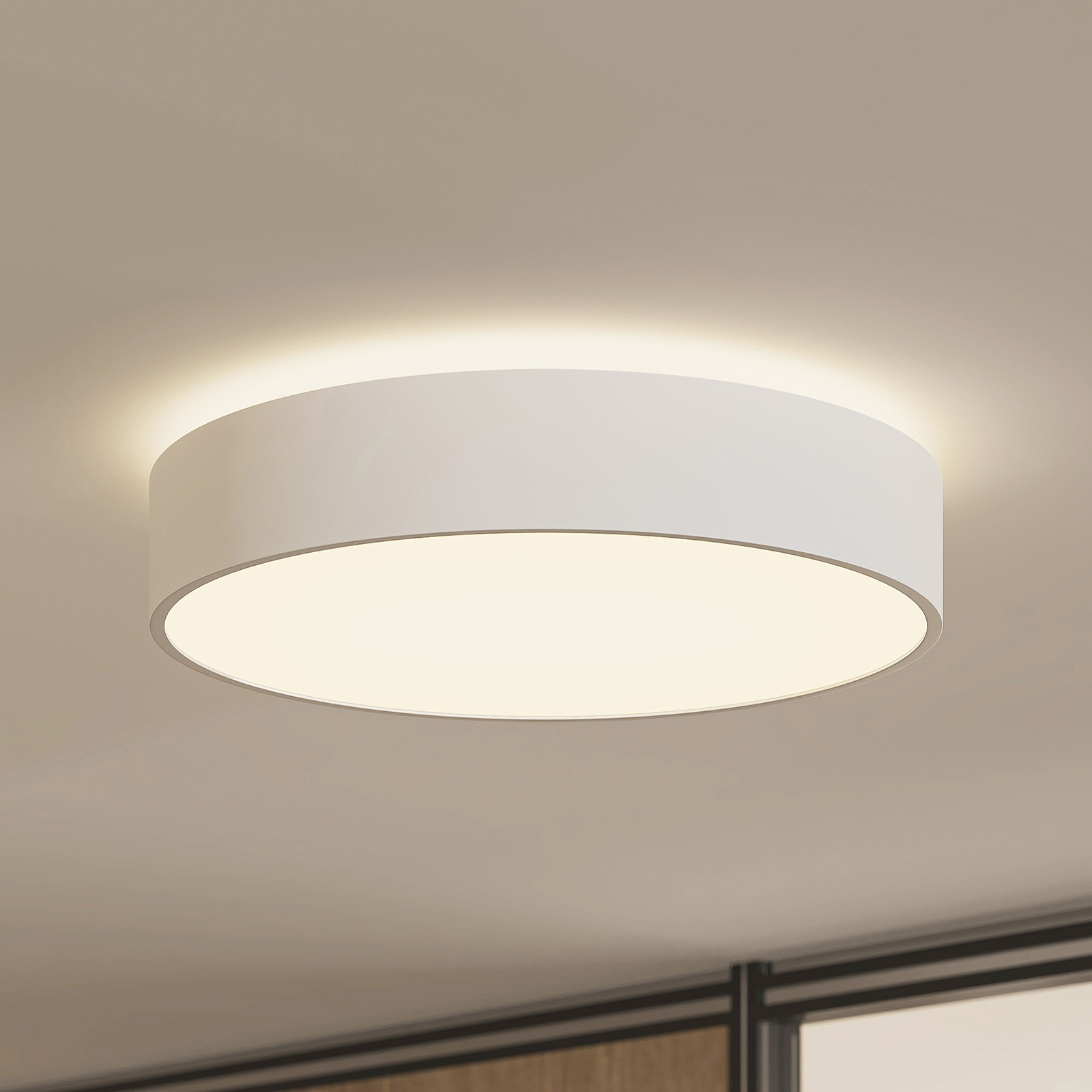Arcchio Vanida LED-taklampe, hvit, 40 cm