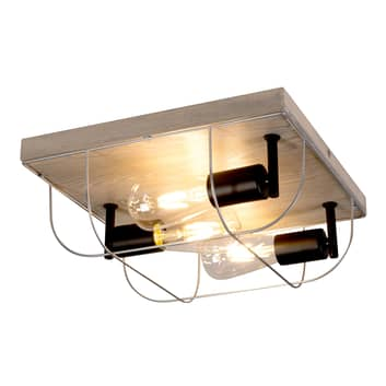 Envolight Neptuna plafondlamp, vierkant, 3-lamps