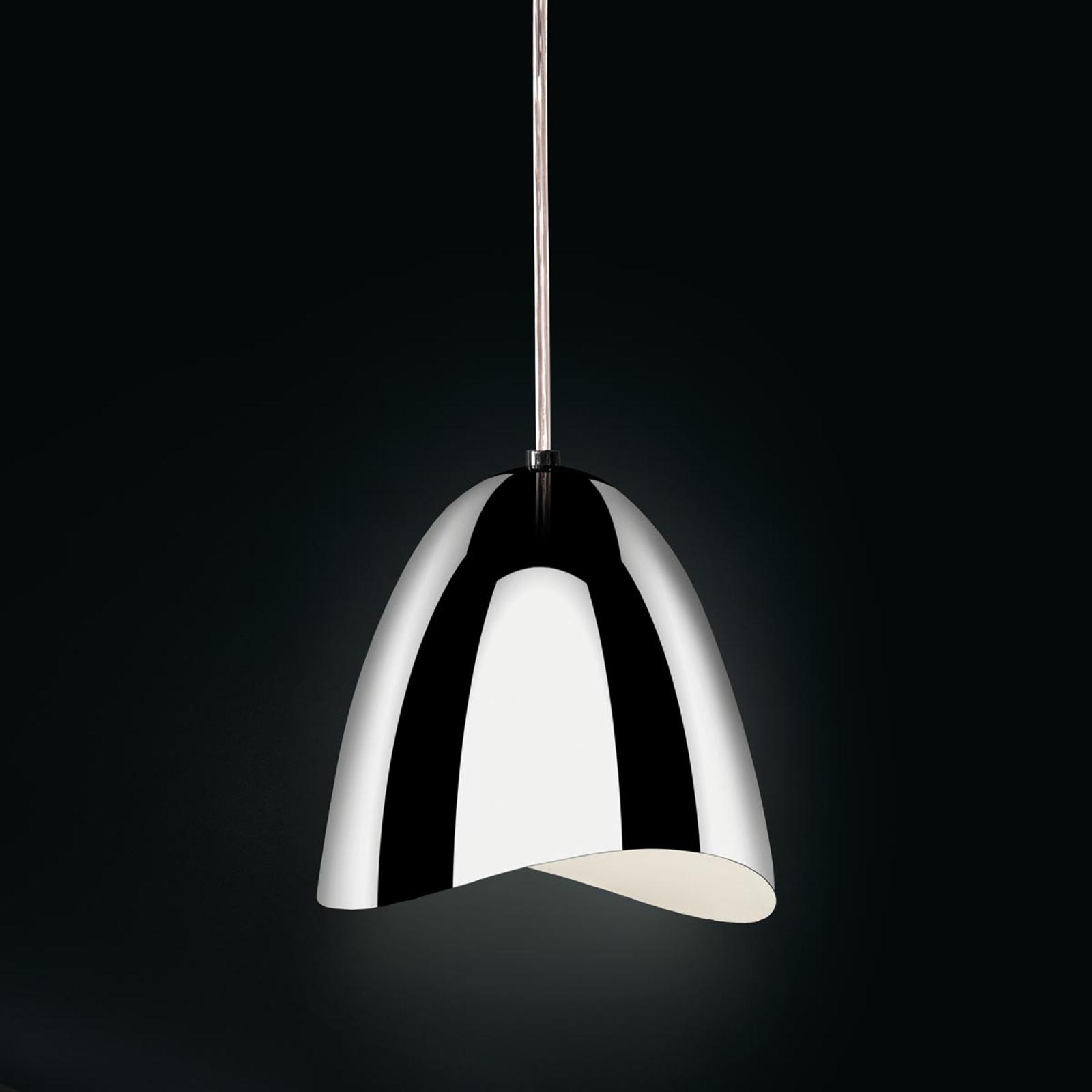 Lampada a sospensione LED Mirage, cromo lucido
