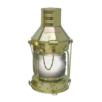 Elektrische sfeerlamp Anker, messing