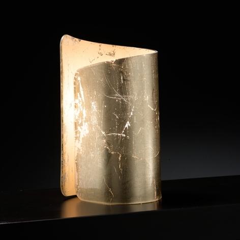 Tischleuchte Papiro, gold