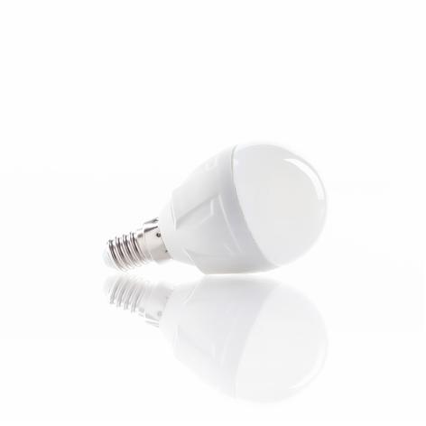 E14 6W 830 LED-pære med dråpeform, varmhvit