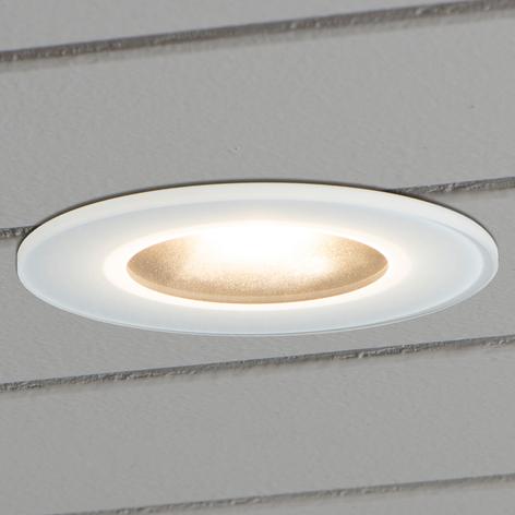 Spots extérieurs encastrables plafond, sous toiture | Luminaire.fr