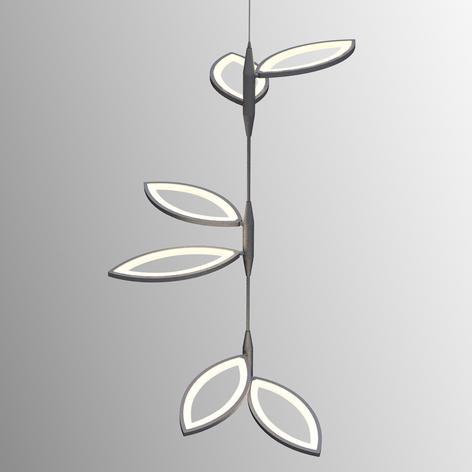 Extraordinaria lámpara colgante LED Flavia