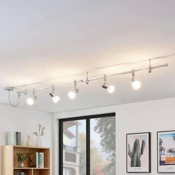 Sistema de riel LED Anjur alto voltaje, E14