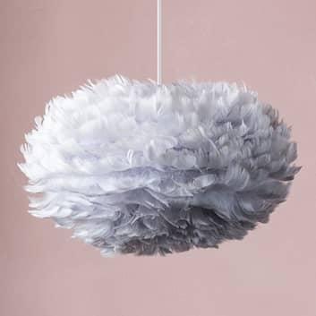UMAGE Eos mini lámpara colgante plumas grises