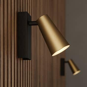 Lucande Angelina spotlight, mässing-guld, 1 lampa