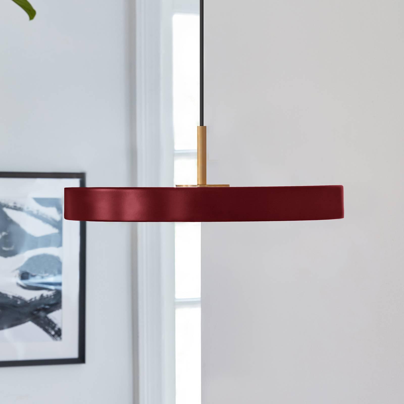 UMAGE Asteria mini lampa wisząca mosiądz rubinowy