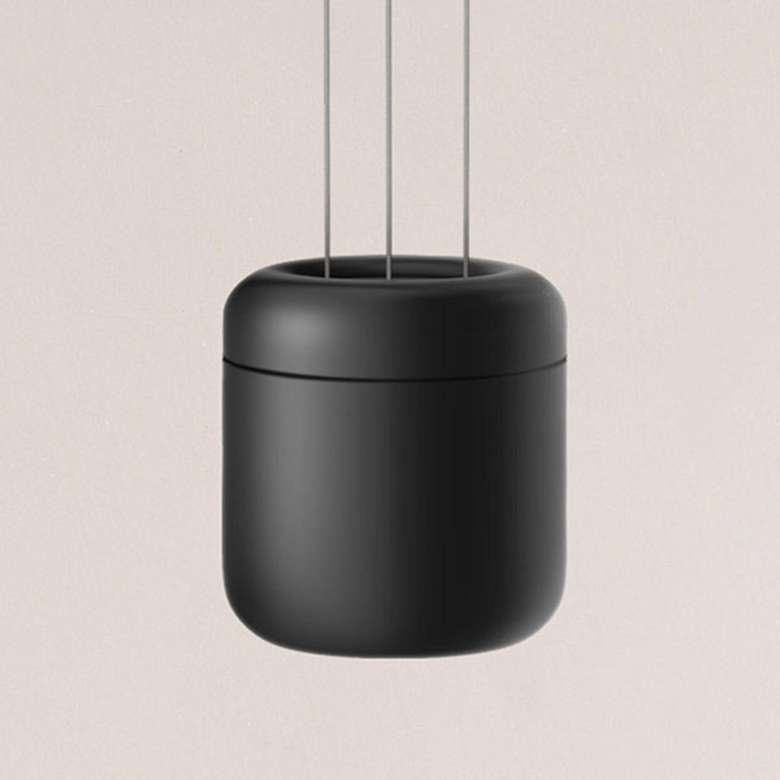 serien.lighting Cavity Suspension L, noir